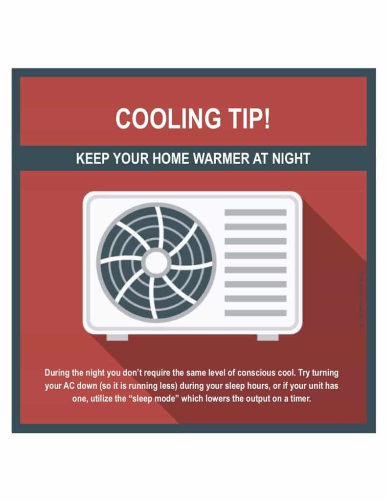 Cooling tip